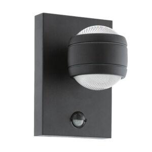 Eglo-LEDKültéri.fali lámpa 2x3,7Wszenz.feketeSesimba