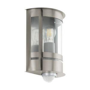 Eglo-Kültériéri fali lámpa E27szenz.nemesacélTribano