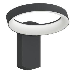 Eglo-Kültériéri LED fali lámpa antracit/fehérPernate