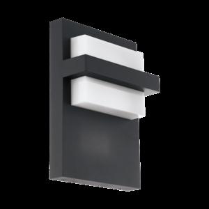 Eglo - LED Kültéri fali lámpa 10W antracit Culpina