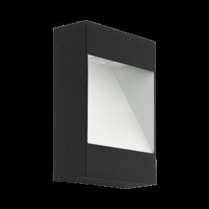 Eglo-LED Kültéri.fali lámpa 10Wantracit/fehérManfria