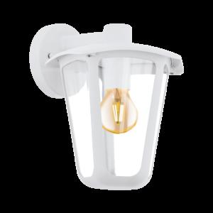 Eglo-Kültériéri fali lámpa lefelé néző E27 1x60WfehérMonreale