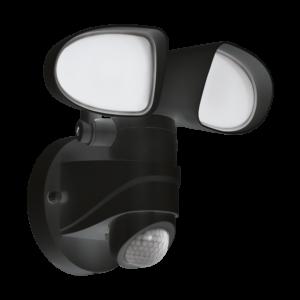 Eglo-Kültéri LED fali lámpa 2x7,5Wszenz feketePagino