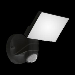 Eglo-Kültéri fali lámpa E27 1x28W IP44 fek/átl Daril
