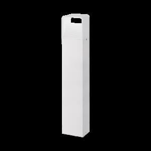 Eglo - Kültériéri LED álló 6W 80cm fehér Doninni