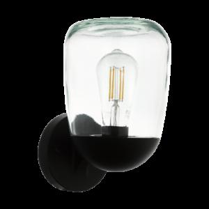 Eglo-Kültéri fali lámpa E271x60WIP44 fek/átlDonatori