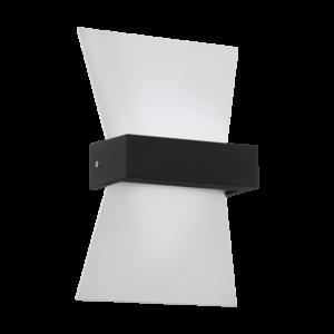 Eglo - LED Kültéri fali lámpa 4,8W IP44 fehér/antracit Albenza
