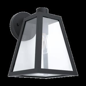Eglo-Kültéri fali lámpa E27 1x60WIP44fk/átlMirandola