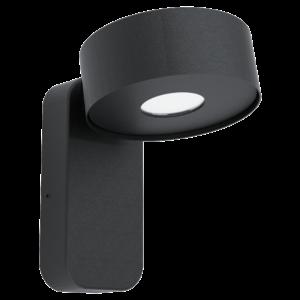 Eglo - LED Kültéri fali lámpa 6W IP44 fekete Palosco