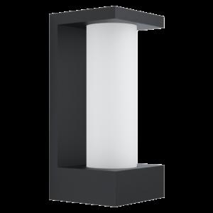 Eglo - LED Kültéri fali lámpa 6W IP44 fehér/fekete Cividino