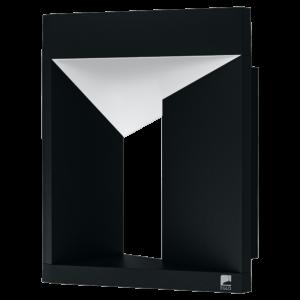 Eglo - LED Kültéri fali lámpa 10W IP54 fehér/fekete fali lámpa Nembro