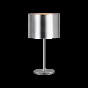 Asztali lámpa E27 1x60Wmnikkel/ezüst Saganto