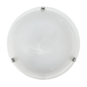 Eglo - Mennyezeti . 2*60W E27 Átm:40Cm króm Salome