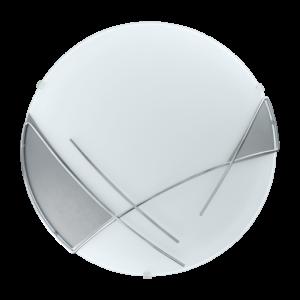 Eglo - Mennyezeti .E27 1X60W króm/ezüst Szín Raya