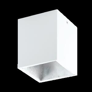 Eglo - Led Mennyezeti .1X3,3W Fehér/ezüstpolasso