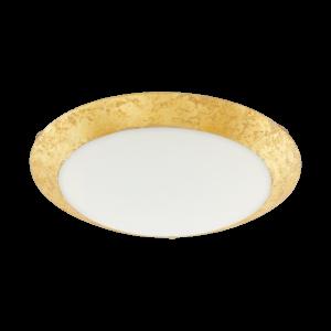 Eglo - Led Mennyezeti Ezetiezeti16W Fehér/arany Montenovo