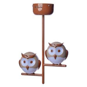 Milagro - OWL - Függeszték gyerekszobai lámpa - Baglyok - 2XG9 LED