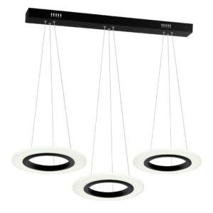 Milagro - COSMO függeszték lámpa 3-as fehér 3x12W LED