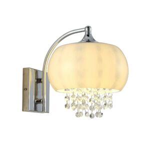 Milagro - NOVA - fali lámpa kristályokkal