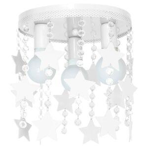 Milagro - STAR mennyezeti gyerekszobai lámpa - fehér