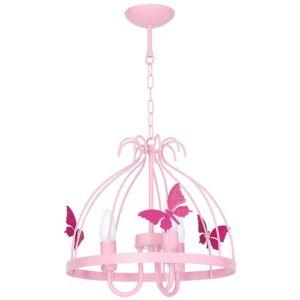 Milagro - KAGO - gyerekszobai csillár- rózsaszín