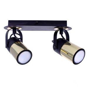 Milagro - WILSON BLACK - mennyezeti Spot lámpa lámpa - fekete,arany