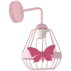 Milagro - KAGO  fali lámpa gyerekszobai rózsaszín