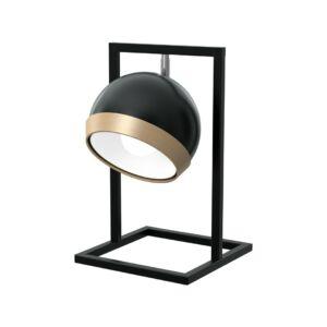 Milagro - Oval Black - Art Deco asztali lámpa - fekete
