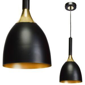 Milagro - CLARK - függeszték lámpa - 1-es fekete-arany 1xE27