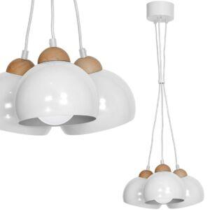 Milagro - Dama White függeszték lámpa 3-as fehér 3xE27