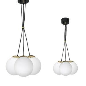 Milagro - SPARTA - gömbök függeszték lámpa 3-as fehér