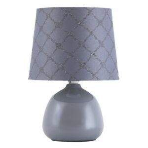 Ellie asztali lámpa E14 max 40W szürke - Rábalux