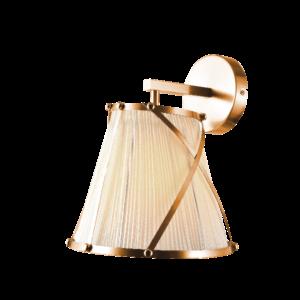 Elizabeth fali lámpa 1X27 arany-Elmark