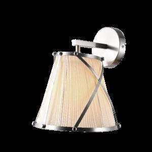 Elizabeth fali lámpa 1X27 nikkel-Elmark