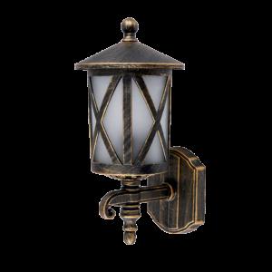 Erik kültéri fali lámpa 1XE27 IP44 antik réz