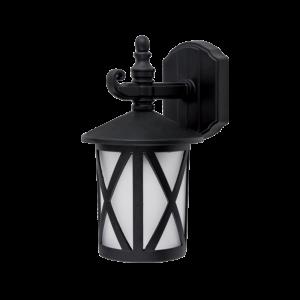 Erik kültéri fali lámpa 1XE27 IP44 matt fekete