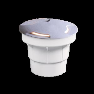 Aldo 2L ledes talajba süllyeszthető lámpa  - szürke - Elmark