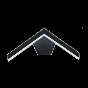 LED kültéri kerti felszerelés 10W 4000K IP54 grafit fekete