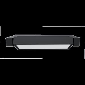 LED kerti fali felszerelés kültéri 10W 4000K IP54 grafit fekete