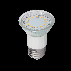 LED izzó, 16-os paritás SMD2835 3W E27 230V, meleg fehér - Elmark
