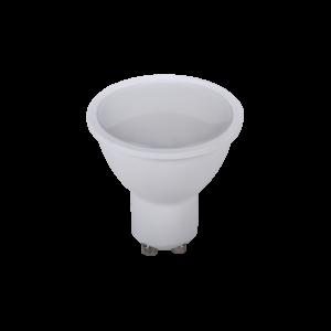 LED SMD2835 6W 120? GU10 230V meleg fehér, dimmelhető/szabályozható
