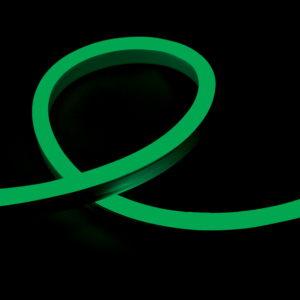 Led neon flex fénykábel zöld smd3528 24V/DC 12W/m IP65 - Elmark - 10 m