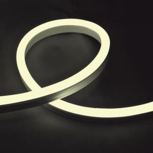Led neon flex fénykábel meleg fehér 3528 24V/DC 12W/m IP65 - Elmark - 10 m