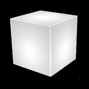 Dekor Lámpa - LED TABLE KUBO RGBW - Elmark