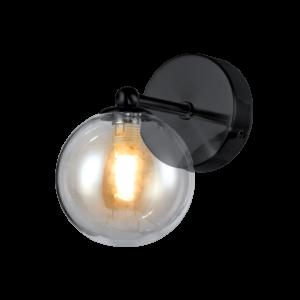 Olena fali lámpa - Fekete- Elmark