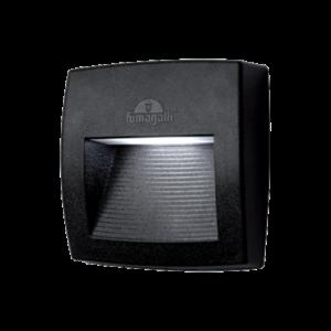 Lorenza kültéri 150 led fali lámpa fekete 4W 4000K IP55 - Elmark