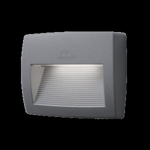 Lorenza kültéri 190 led fali lámpa szürke 8.5W 4000K IP55 - Elmark