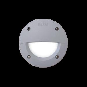 Leti 100el led süllyesztett fali lámpa kültéri szürke 3W 4000K IP55 - Elmark