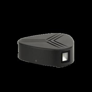 Grf9618 ledes homlokzatvilágító lámpatest sötétszürke 3X3W 4000K IP54 - Elmark