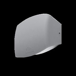 Abram kültéri 190 led fali lámpa szürke 8.5W 4000K IP55 - Elmark